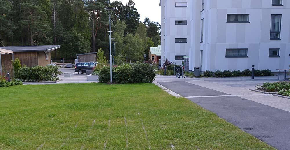 miljövänlig markläggning vid offentliga platser